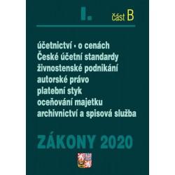 Zákony I část B 2020 – Účetní zákony – Úplná znění po novelách k 1. 1. 2020