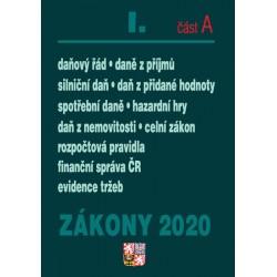 Zákony I část A 2020 – Daňové zákony – Úplná znění po novelách k 1. 1. 2020