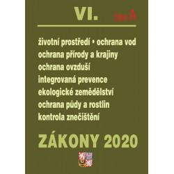 Zákony VI část A 2020 – Životní prostředí – Úplná znění po novelách k 1. 1. 2020