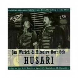 Jan Werich, Miroslav Horníček: Husaři 2 CD