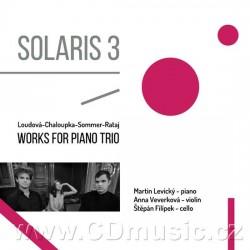 Loudová, Chaloupka, Sommer, Rataj - Solaris 3 - Works for Piano Trios - CD