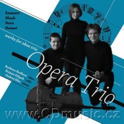 Emmert, Dlask, Nota, Demoč - Works for Oboe Trio - Opera Trio - CD