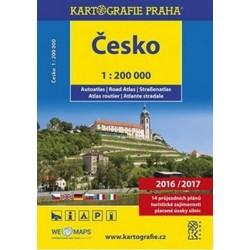 Česko - autoatlas/1:200 000, 2016/2017