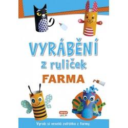 Vyrábění z ruliček FARMA + samolepky