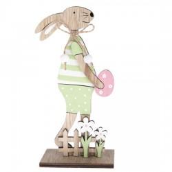 Dřevěný zajíc - 12 cm