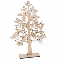 Dřevěný strom - 30 cm