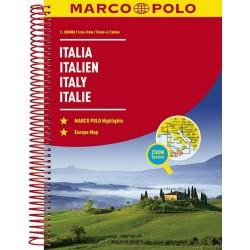 Itálie - Italia/atlas-spirála 1:300T