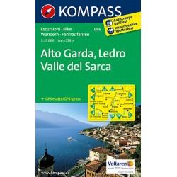 Alto Garda,Ledro 096 / 1:25T NKOM