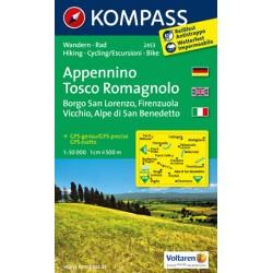Appennino Tosco Romagnolo 2453 / 1:50T NKOM