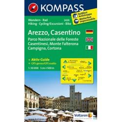 Arezzo,Casentino 2459 / 1:50T NKOM