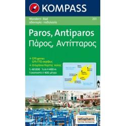Paros,Antiparos 251 / 1:40T NKOM