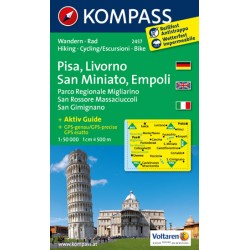 Pisa,Livorno,San Miniato 2457 / 1:50T NKOM