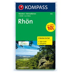 Rhön 460 ,2 mapy / 1:50T NKOM