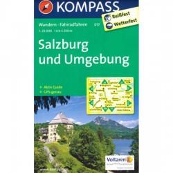 Salzburg und Umgebung 017 / 1:25T NKOM