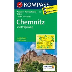 Chemnitz und Umgebung 817 / 1:50T NKOM