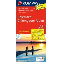 Chiemsee,Chiemgauer Alpen 3121 / 1:70T KOM