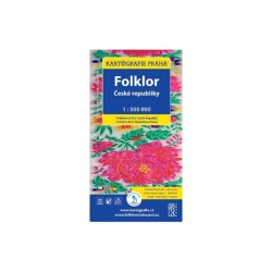 Folklor České republiky s brožurou/1:500 tis.(tematická mapa)