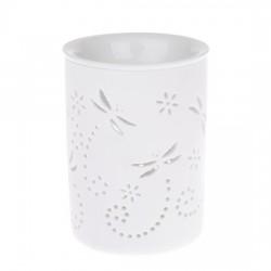 Porcelánová aromalampa/Vážky