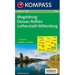Magdeburg,Dessau,Lutherstadt 456 / 1:50T NKOM