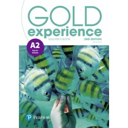 Gold Experience 2nd Edition A2 Teacher´s Book w/ Online Practice & Online Resources Pack