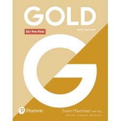 Gold B1+ Pre-First 2018 Exam Maximiser w/ key