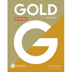 Gold B1+ Pre-First 2018 Coursebook