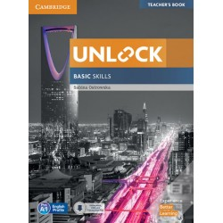Unlock Basic Skills Teacher´s Book with Downloadable Audio and Video and Presentation Plus