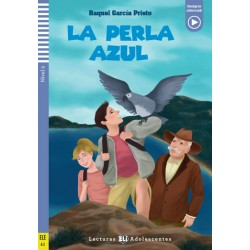 Lecturas ELI Adolescentes 2/A2: La Perla Azul + Downloadable Multimedia