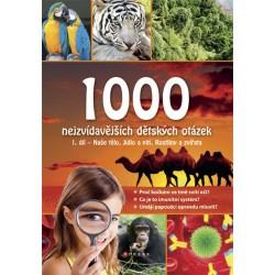 1000 nejzvídavějších dětských otázek