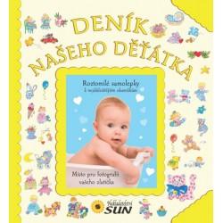Deník našeho děťátka - zlatý