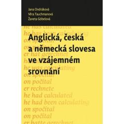 Anglická, česká a německá slovesa ve vzájemném srovnání