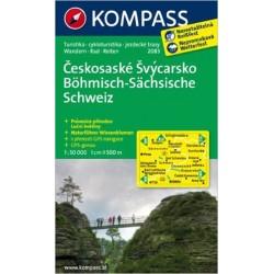 Českosaské Švýcarsko/ lamino 2083 NKOM 1:50T