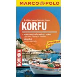 Korfu - Průvodce se skládací mapou