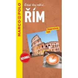Řím / průvodce na spirále s mapou MD