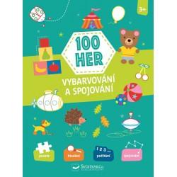 100 her - Vybarvování a spojování 3+