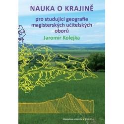 Nauka o krajině pro studující geografie magisterských učitelských oborů