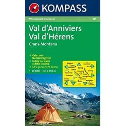 Val d´ Anniviers,Montana 115 / 1:50T NKOM