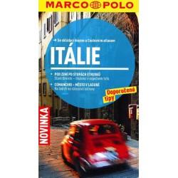 Itálie/cestovní průvodce s mapou MD