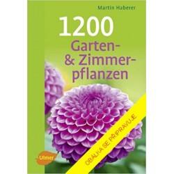 1200 zahradních a pokojových rostlin