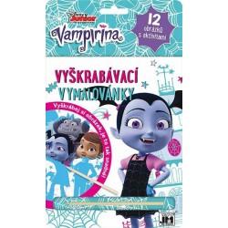 Vampirina - Vyškrabávací vymalovánky