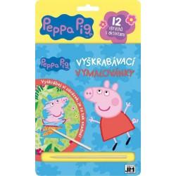 Peppa - Vyškrabávací vymalovánky