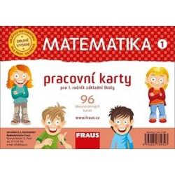 Matematika 1 pracovní karty pro 1. ročník základní školy