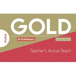 Gold B1 Preliminary New Edition Teacher´s ActiveTeach USB