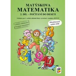 Matýskova matematika, 2. díl - počítání do 10 - aktualizované vydání 2018-2019