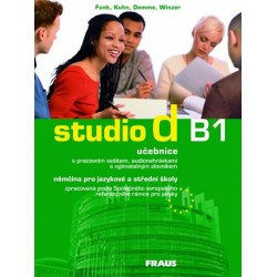 studio d B1 - učebnice + CD