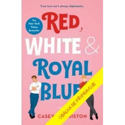 Červená, bílá a královsky modrá