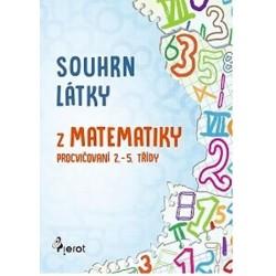 Souhrn látky z matematiky 1. stupeň ZŠ