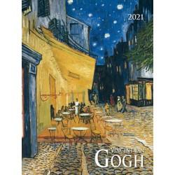 Kalendář 2021 - Vincent van Gogh, nástěnný