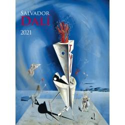 Kalendář 2021 - Salvador Dalí, nástěnný
