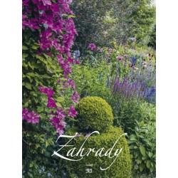 Kalendář 2021 - Zahrady, nástěnný